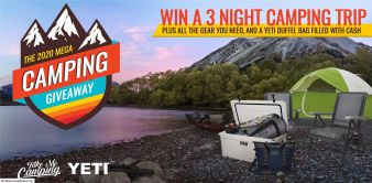 TakeMeCamping Sweepstakes