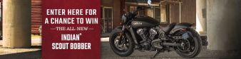 Indian Motorcycles · Indian Scout Bobber Giveaway Sweepstakes