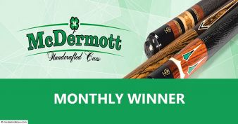 McDermott Cue Sweepstakes