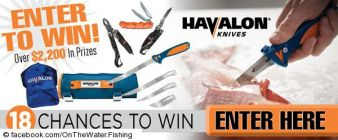 OnTheWater Fishing Giveaway Sweepstakes