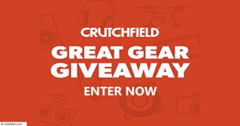 Crutchfield Great Gear Giveaway Sweepstakes