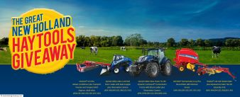 The Great New Holland Hay Tools Giveaway Sweepstakes