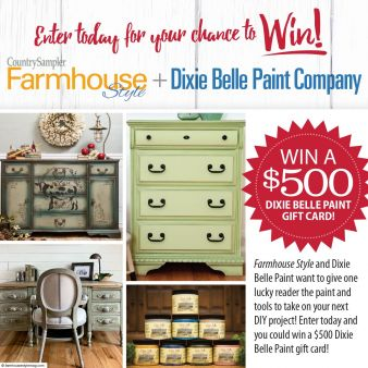 Farmhouse Style Sweepstakes