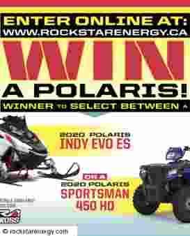 ROCKSTAR & PETRO CANADA POLARIS GIVEAWAY Sweepstakes