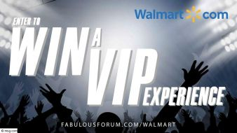 Walmart's VIP Experience Giveaway Sweepstakes