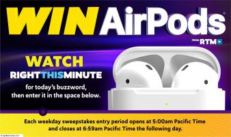 RightThisMinute Sweepstakes