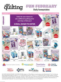 American Patchwork & Quilting Sweepstakes