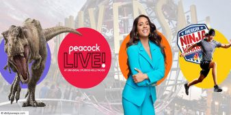 Comcast Peacock Live! at Universal Studios Hollywood Sweepstakes Sweepstakes