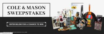 Cole & Mason -Complete Kitchen Enhancement Sweepstakes Sweepstakes
