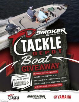 Official Tackle Depot Sweepstakes
