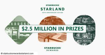 Starbucks® Rewards Starland Promotion Sweepstakes