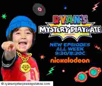 Ryan's Mystery Playdate Season 3 Sweepstakes Sweepstakes