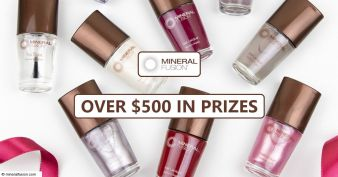 Mineral Fusion Giveaway Sweepstakes