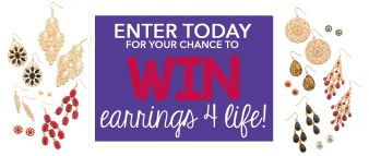 Claire's · Earrings 4 Life Sweeps Sweepstakes